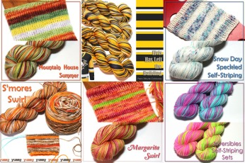 FDW Self Striping Yarns