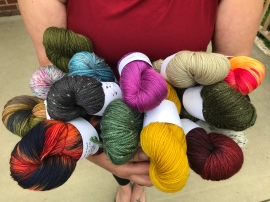 Armful of yarns