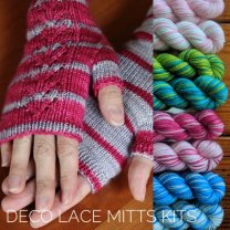 Deco Lace Mitts
